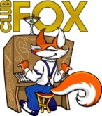 club fox with type vertical